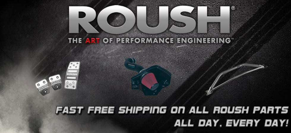 Pure Speed Motorsports - Free Shipping Roush Performance Mustang Parts
